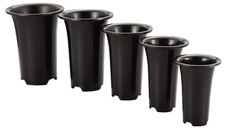 PP Orchid Pots Manufacture Produce Different Size Orchid Flower Pots Suitable for Garden Plant Cultivation