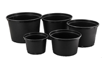 Gallon Pot Supplier Offer 1 2 3 5 7 10 Gallon Flower Pots Application For Rose Flower Fortune Tree
