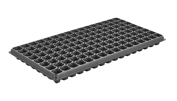 128 Hole Seeder tray PS Seed Starter tray for potting soil and changing pots