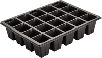 20 Hole Forest trays PS Seedling Starter Tray For cultivation of large seedling plants